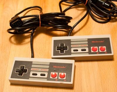 Original NES Controllers